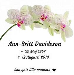 Ann-Britt Davidsson